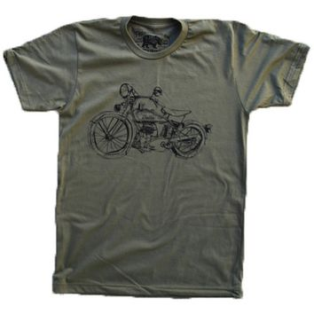 1929 Indian Motorcycle 101 Scout T-shirt