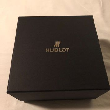 Hublot Big Bang Broderie Stainless Stee NIBl Special Edition Embroidery