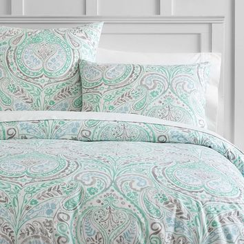 Willow Paisley Duvet Cover + Sham