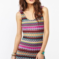 Isabella Stripe Dress
