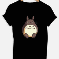 Grumpy Totoro Shirt/ for Women, Men, Kids.