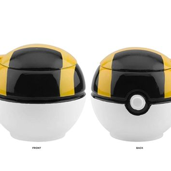 OFFICIAL Pokemon GO! Ultra Ball PREMIUM Ceramic Coffee Mug GIFT with Lid