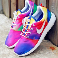 """NIKE"" Trending Fashion casual sports shoes Colorful"
