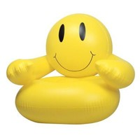 Inflatable Smile Chair Party Accessory:Amazon:Toys & Games