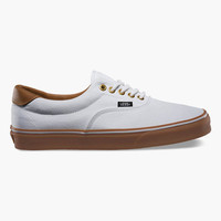 Vans C&L Era 59 Mens Shoes True White/Classic Gum  In Sizes