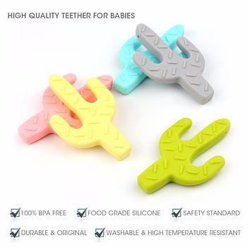 TYRY.HU Silicone Teether Bead Babies Teething Pendant Nursing Soft Silicone Beads Safe Toys For DIY Teething Necklace