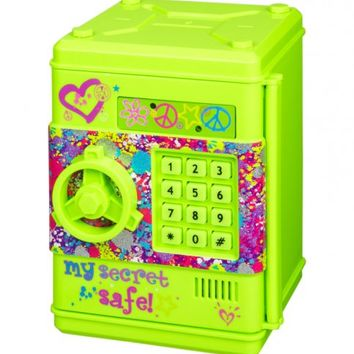 Neon Green Digital Safe | Girls Organization Room Decor | Shop Justice