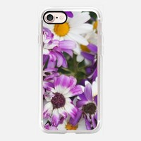 Casetify iPhone 7 Classic Grip Case - Colorful daisies by littlesilversparks