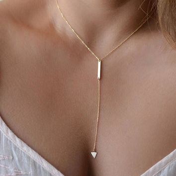 Stunning Gold Plated Multi-Layer Bar Coin Necklace
