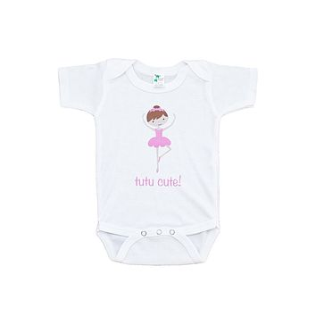 Custom Party Shop Girl's Ballerina Tutu Cute Onepiece