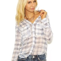 Bella Dahl Hipster Shirt in Navy | Boutique To You