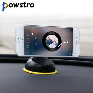 LMFDP2 Powstro Car Phone Holder Universal Callphone Stand Dash Board or Glasses Magnetic Sucker 360 Rotate for All  Smartphone GPS