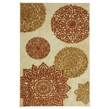 Mohawk Select Strata Mandarin Star Rug | Wayfair