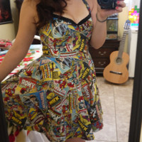 Marvel Dress Custom Orders Accepted by FashionablyGeeky247 on Etsy