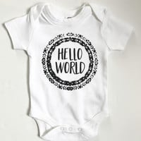 HELLO WORLD - Take Home Onesuit