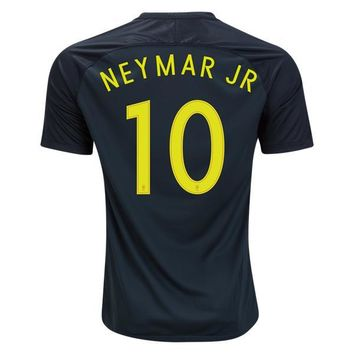 Brazil 2017/18 Third Away Men Soccer Jersey NEYMAR JR #10