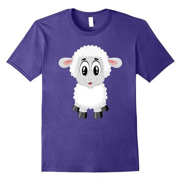 Sheep Costume Shirt For Farm Animal Theme Party