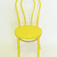 Thonet bentwood chair {Mustard Yellow}