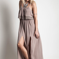 Gypsy Slits Maxi Dress – Gypsy Outfitters - Boho Luxe Boutique