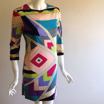 As Is 1960s Emilio Pucci Mini Dress