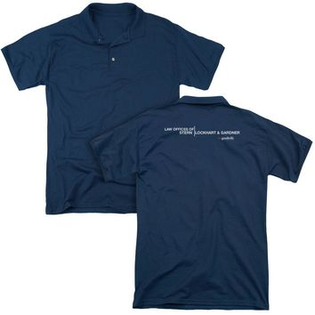 The Good Wife - Law Offices (Back Print) Mens Regular Fit Polo