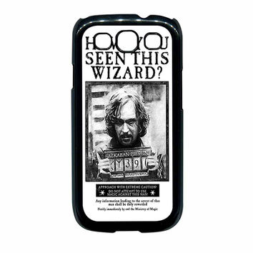 Sirius Black Wanted Poster Samsung Galaxy S3 Case