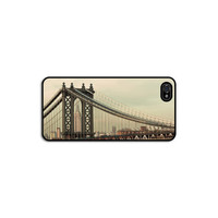 New York City iPhone 5 5s case, Mint iphone5 gadget cover for men, Empire State Building