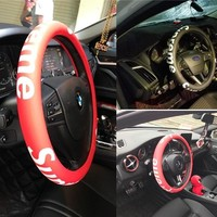 Supreme Car Acessory On Sale Hot Deal Stylish Steer Wheel Cover [105072853004]
