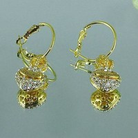 8DESS Juicy Couture Women Fashion Chic Accessories Fine Jewelry Earrings
