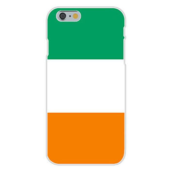 Apple iPhone 6 Custom Case White Plastic Snap On - Cote d'Ivoire (Ivory Coast) - World Country National Flags