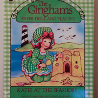 The Ginghams Paper Doll Katie at the Seashore by KTsVersion