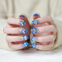 Direct Selling New Finger Tips The Bride Manicure Fake Nails Nail A Lovely Patch Finished 24 Pieces acrylic nail