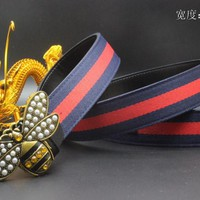 Gucci Belt Men Women Fashion Belts 537956