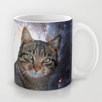 Cats in Space Mug by Spooky Dooky