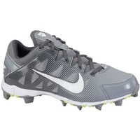 Nike Women's Hyperdiamond Keystone Softball Cleat - Grey/White | DICK'S Sporting Goods