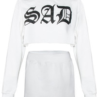 Sad Sweatsuit White