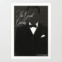 The Great Gatsby Art Print by Finch Graphics
