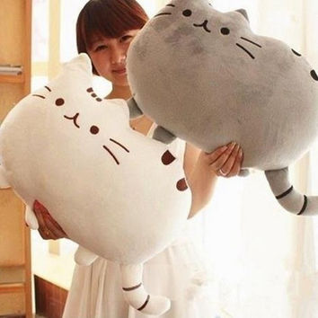 Cute Big Cat Shape Pillow Cushion Soft Plush Toy Doll Home Sofa Decoration Decor (40*30cm) = 1930122564
