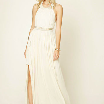 Braided M-Slit Maxi Dress