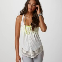 AE Crocheted Racerback Cami   American Eagle Outfitters
