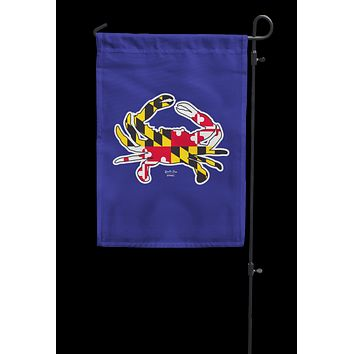 Maryland Full Flag Crab (Navy) / Garden Flag