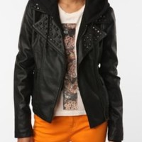 UrbanOutfitters.com > OBEY Jump Street Studded Jacket