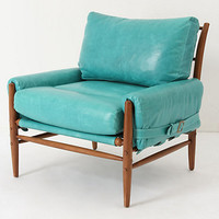Rhys Chair, Caribbean Blue