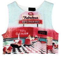 Restaurant Cropped Tank
