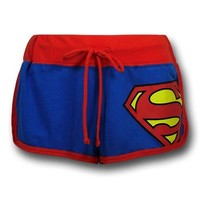 Superman Women's Short Shorts