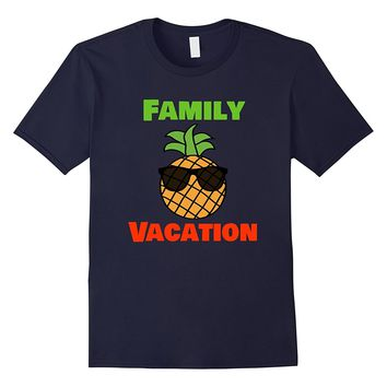 Group Family Matching Pineapple Family Vacation Shirt