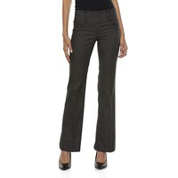 Joe B Tweed Extend Tab Pants - Juniors