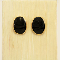 Onyx River Stone Earrings