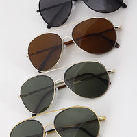 Tinted Aviator Sunglasses ( + Colors )