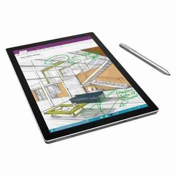 Microsoft Surface Pro 4 Tablet - 12.3 - 4 GB - Intel Core i5 (6th Gen) i5-6300U Dual-core (2 Core) 2.40 GHz - 128 GB SSD - Windows 10 Pro - 2736 x 1824 - PixelSense - Silver - 3:2 Aspect Ratio - microSD Memory Card Supported - Wireless LAN - Bluetooth -